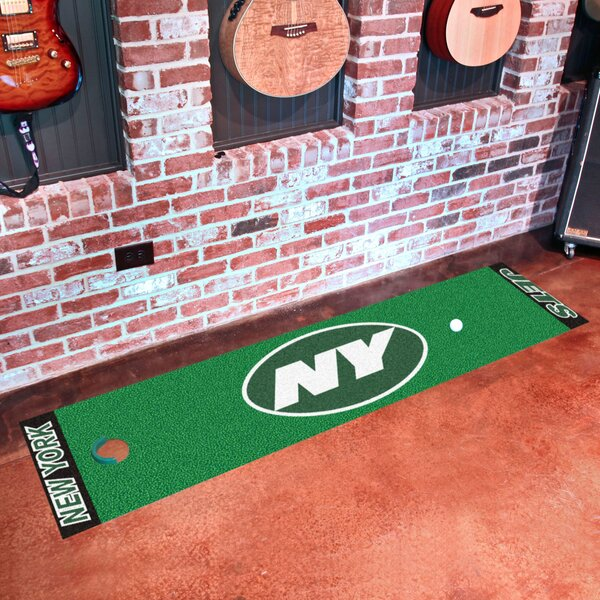 NFL New York Jets Putting Green Mat by FANMATS