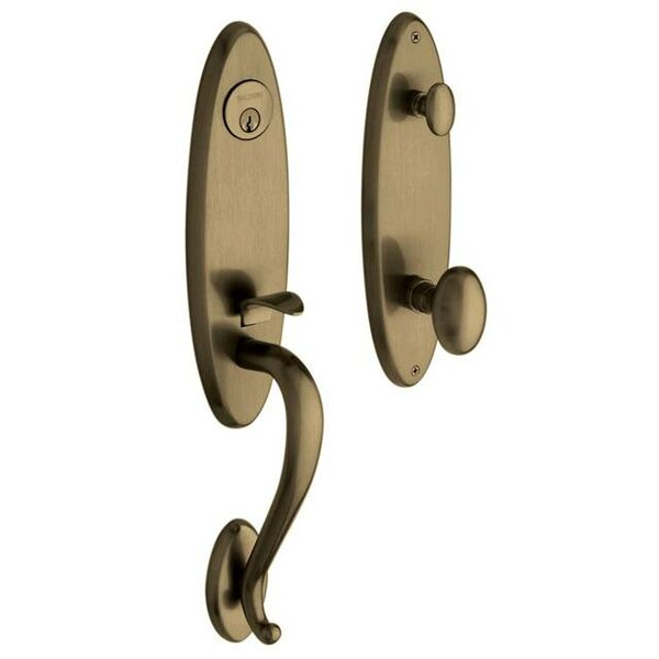 Blakely Full Dummy Handleset with Interior Knob and Emergency Egress by Baldwin