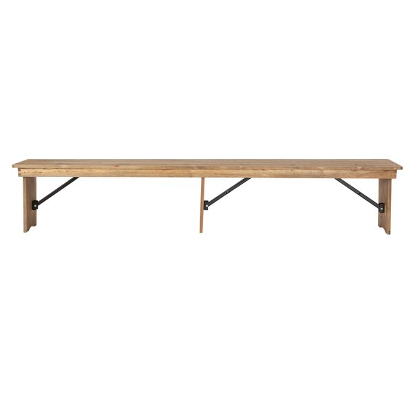 Alistair Wood Bench by Millwood Pines