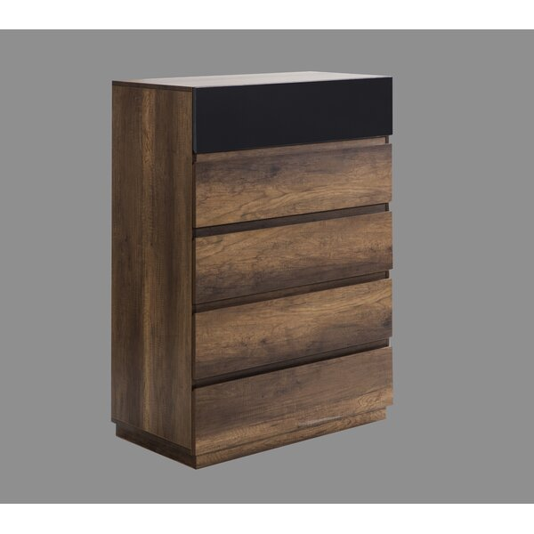 Leflore 5 Drawer Chest by Orren Ellis