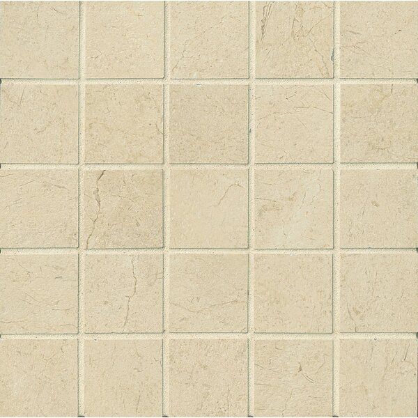 El Dorado 2 x 2 Porcelain Mosaic Tile in Oyster by Grayson Martin