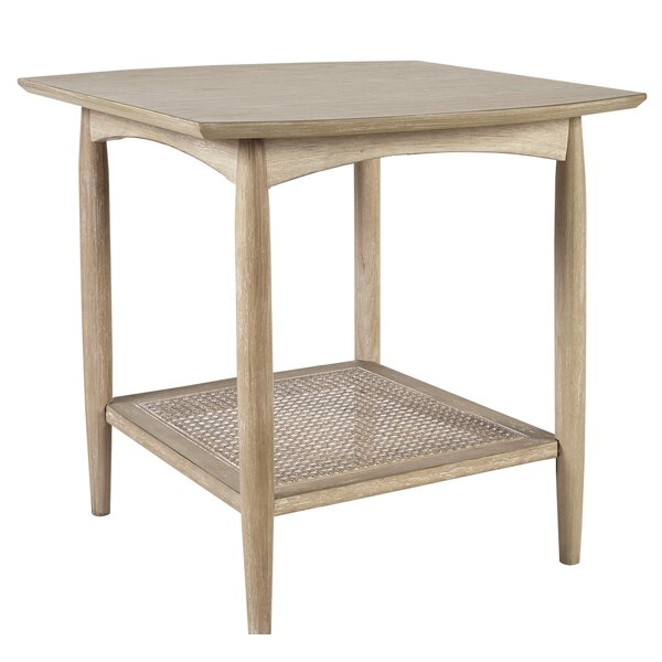 Deleon End Table by Bungalow Rose