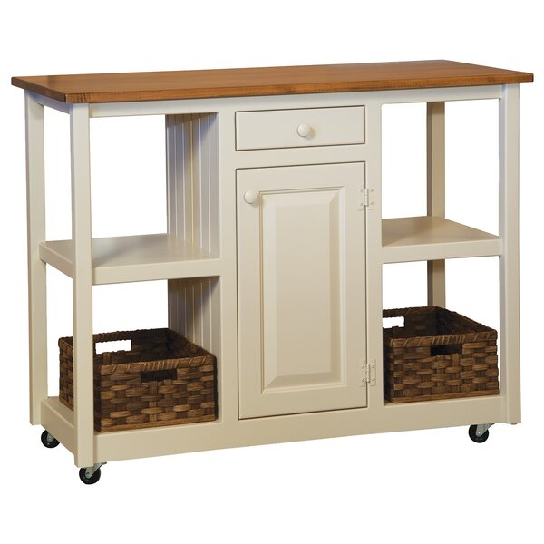 Rutha Kitchen Cart by August Grove