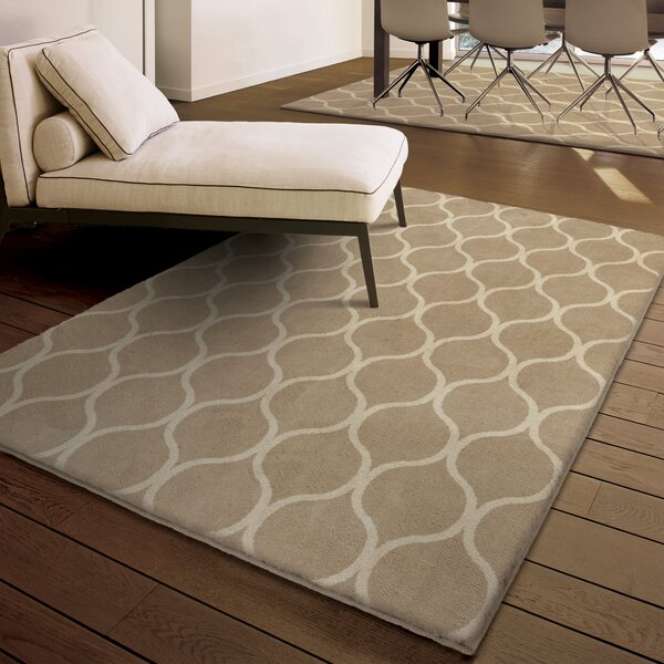 Marietta Beige Area Rug by Threadbind