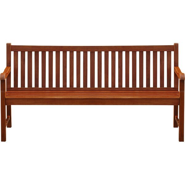 Neala Acacia Wood Bench by Home Etc