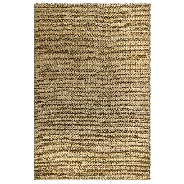 Delmer Carlsbad Hand-Woven Natural Area Rug by Highland Dunes
