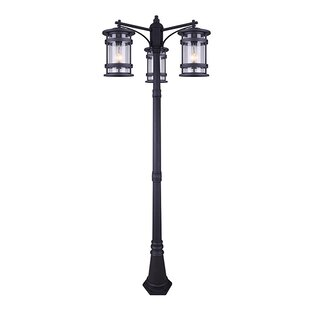 Inexpensive Wilhite 3-Light 82 Post Light By Breakwater Bay