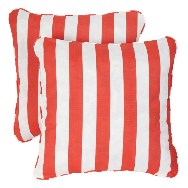 Luciano Indoor/Outdoor Throw Pillow (Set of 2) by Mercury Row