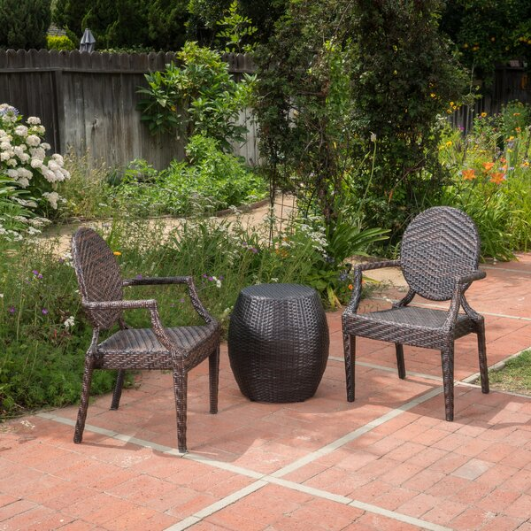 Lefever 3 Piece Seating Group by Charlton Home