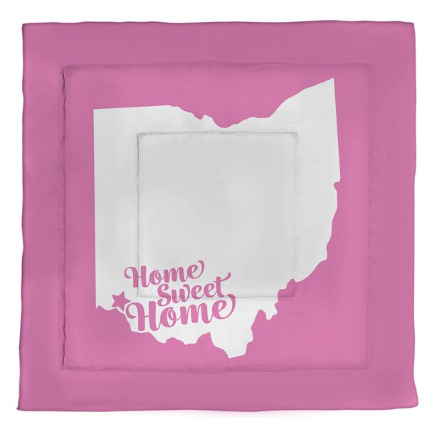 Cincinnati Home Sweet Single Reversible Comforter