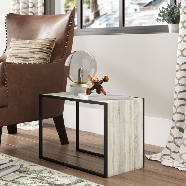 Patmos End Table by Williston Forge