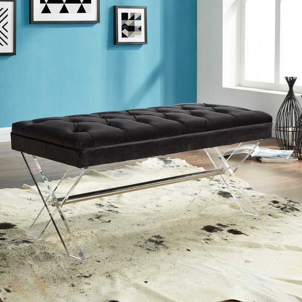 Bottomley Metal Bench by Willa Arlo Interiors