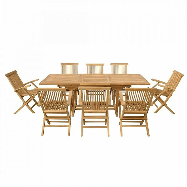 Arva 9 Piece Dining Set by Home Loft Concepts
