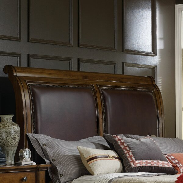 Tynecastle Upholstered Sleigh Headboard by Hooker Furniture