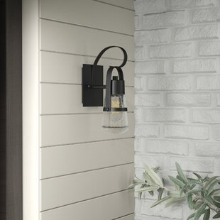 Best Reviews Lisabeth 1-Light Outdoor Sconce By Williston Forge