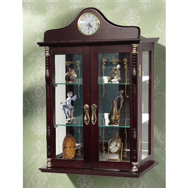 Wall-Mounted Curio Cabinet by Jenlea