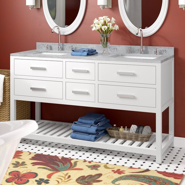 Berghoff 60 Double Bathroom Vanity Set by Andover Mills