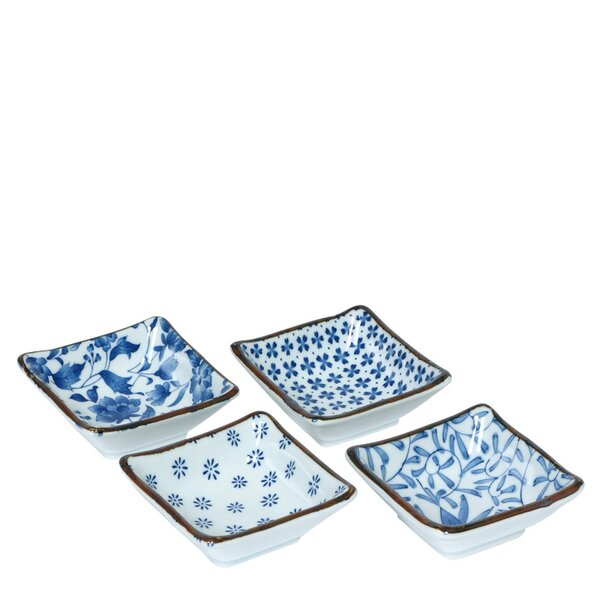 4-Piece Serving Dish by Miya Company
