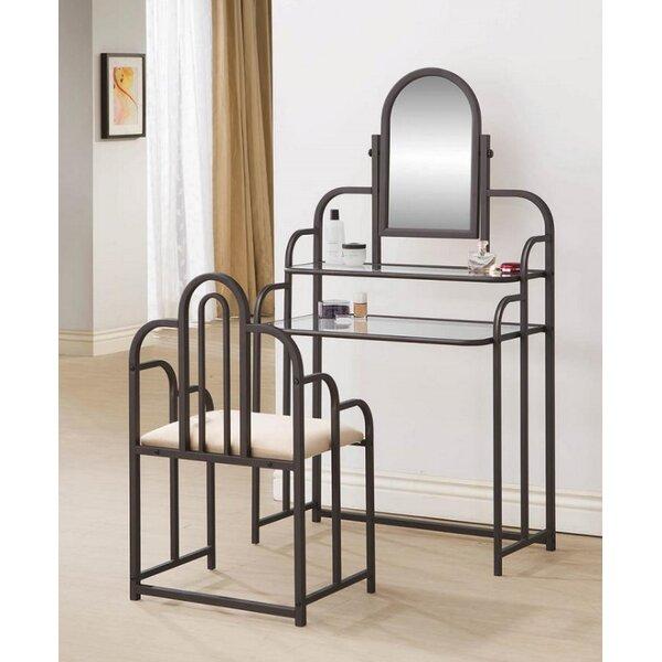 Pyper Vanity Set with Mirror by House of Hampton