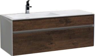 Brockman 47 Wall-Mounted Single Bathroom Vanity Set by Wade Logan