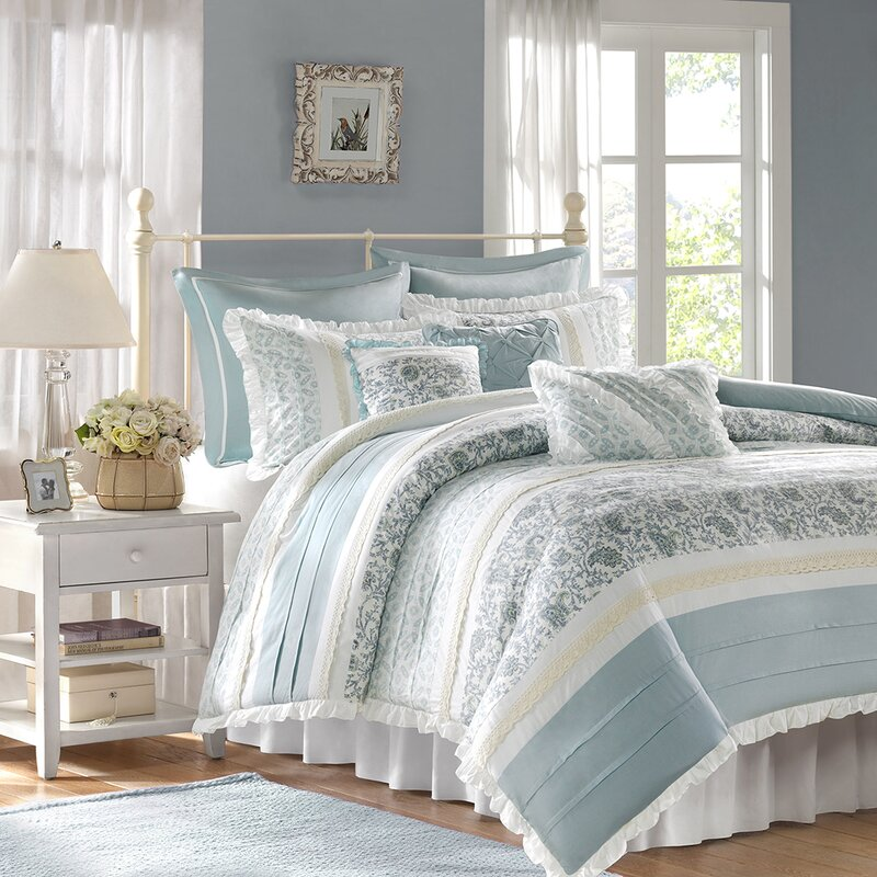 August Grove Chambery 180 Thread Count 100 Cotton