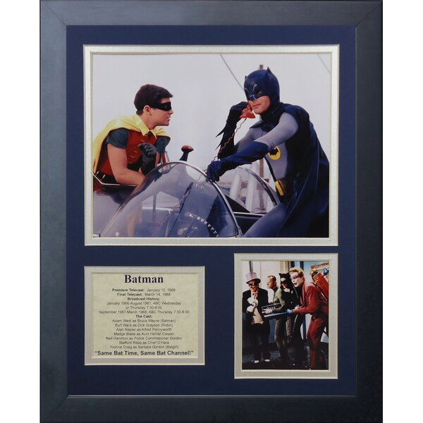 Batman Framed Memorabilia by Legends Never Die