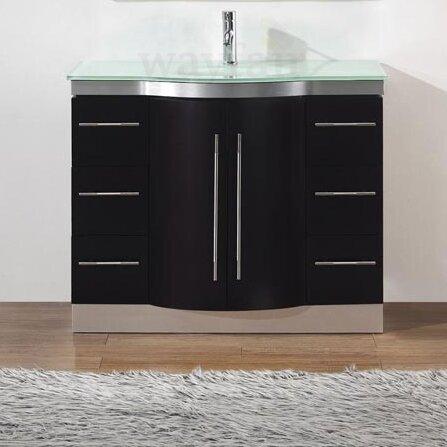 Bauhaus Bath Dinara 42 Single Bathroom Vanity Set With Mirror