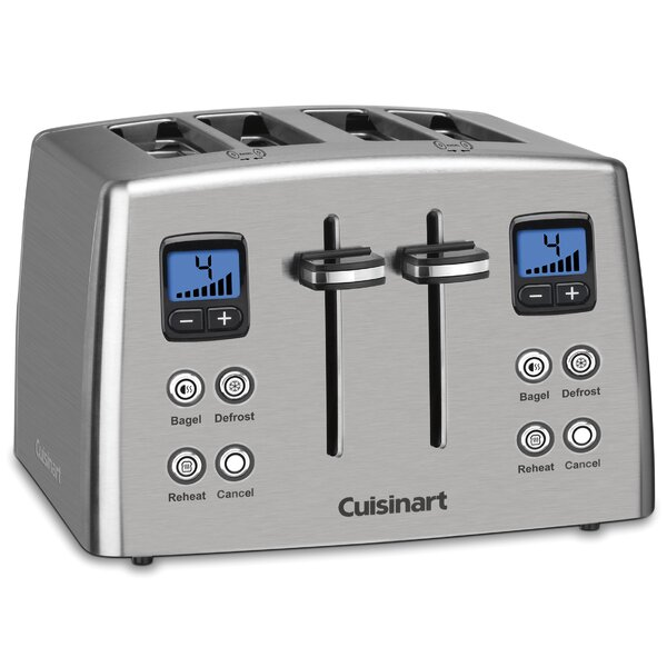 Classic Series 4 Slice Compact Toaster By Cuisinart.