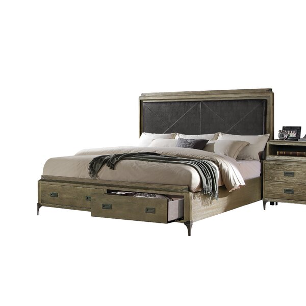 Sadee Upholstered Storage Standard Bed by 17 Stories