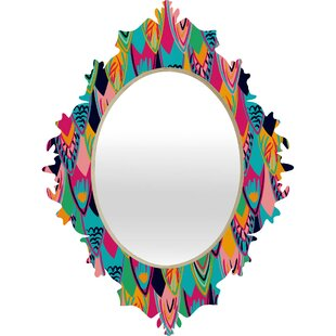 Deny Designs Vy La Love Birds 1 Baroque Accent Mirror