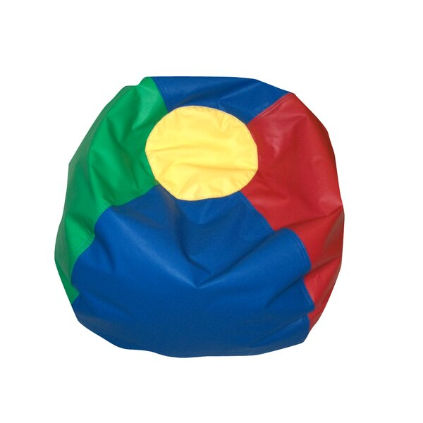 Standard Faux Leather Classic Bean Bag By Children's Factory
