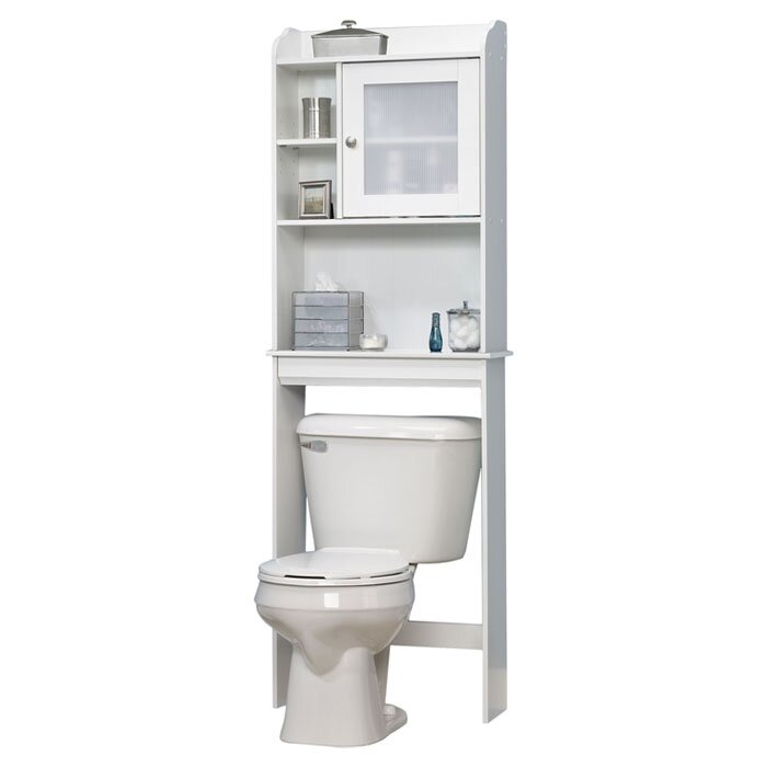 Three Posts Pinecrest Over The Toilet Cabinet & Reviews