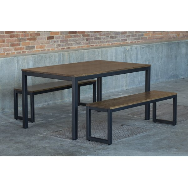 Loft 3 Piece Dining Set by Elan Furniture