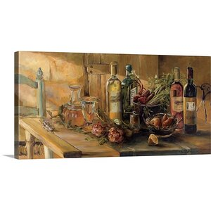 'Fruits of the Valley' by Marilyn Hageman Painting Print on Wrapped Canvas by Great Big Canvas