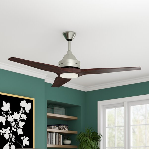 60 Audrey 3 Blade Outdoor Ceiling Fan with Remote