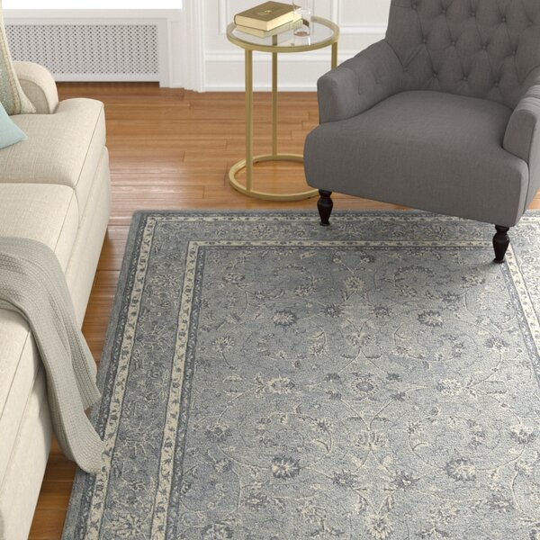 Lundeen Steel Area Rug by Astoria Grand