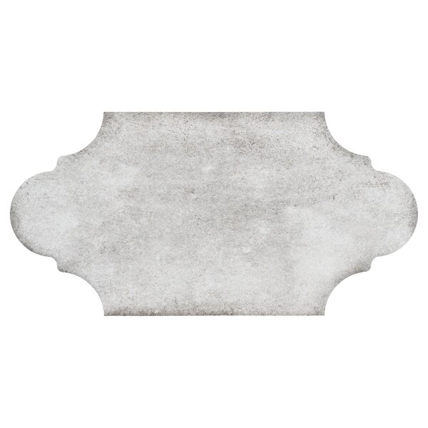 Alcazaba Porvenzal 6.38 x 12.88 Porcelain Field Tile in Gray by EliteTile