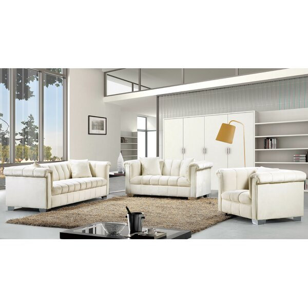 Henriette Configurable Living Room Set by Willa Arlo Interiors