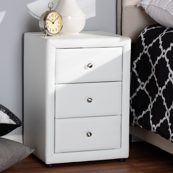 Leff 3 Drawer Nightstand by Mercer41