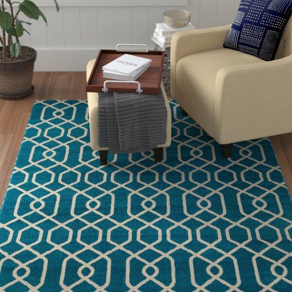 Stever Blue Area Rug by Winston Porter