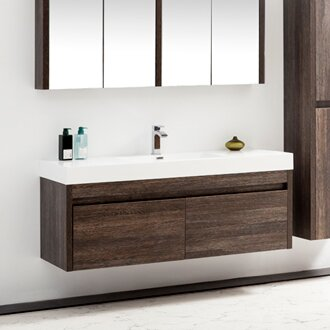 Rosas 59 Single Bathroom Vanity Set by Wrought Studio