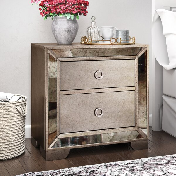 Dowson 2 Drawer Nightstand by Willa Arlo Interiors