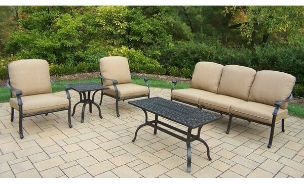 Bosch 5 Piece Sofa Set with Cushions by Darby Home Co