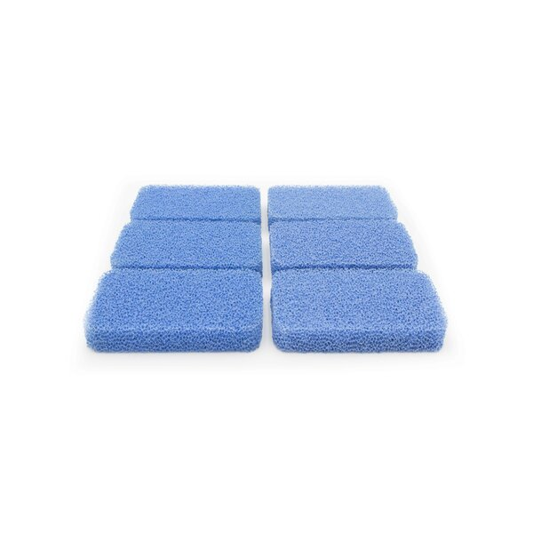 Breeze Non-Scratch and Odor Resistant Silicone Scrubber (Set of 6) by Sinkology
