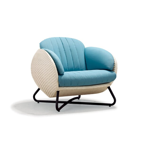 Circle Single Sofa with Cushions by 100 Essentials