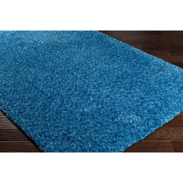 Klima Blue Area Rug by Wrought Studio