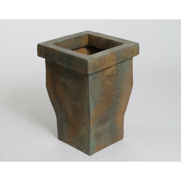 Tall Fiberstone Pot Planter by OrlandiStatuary