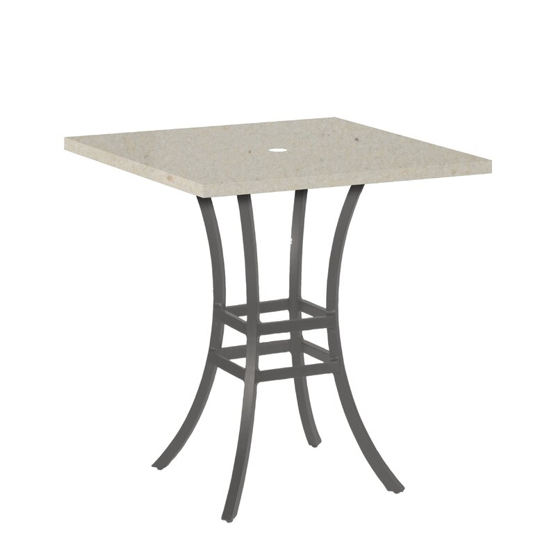 Summer classics superstone square bistro table top reviews wayfair superstone square bistro table top watchthetrailerfo