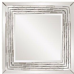 Wade Logan Beveled Wall Mirror