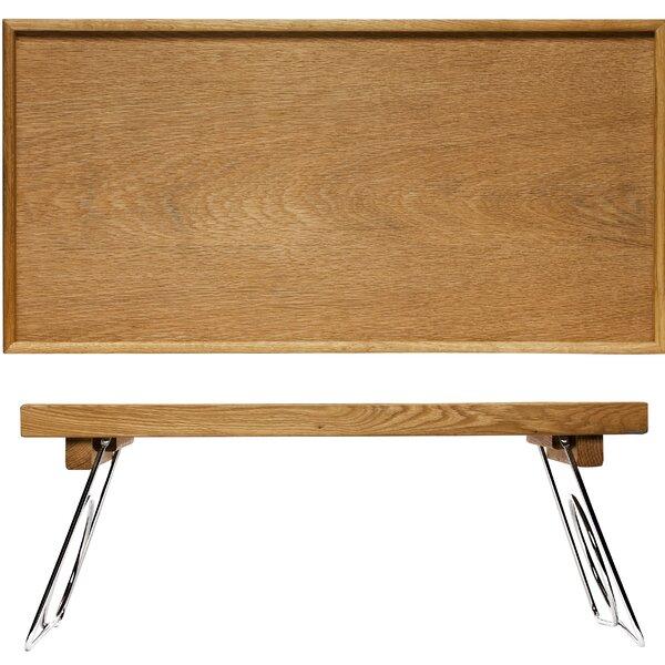 Oval Oak Bed Tray with Folding Legs by Sagaform